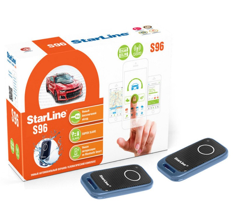 Автосигнализация STARLINE S96BT GSM GPS