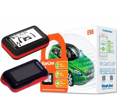 Автосигнализация STARLINE E96BT GSM GPS